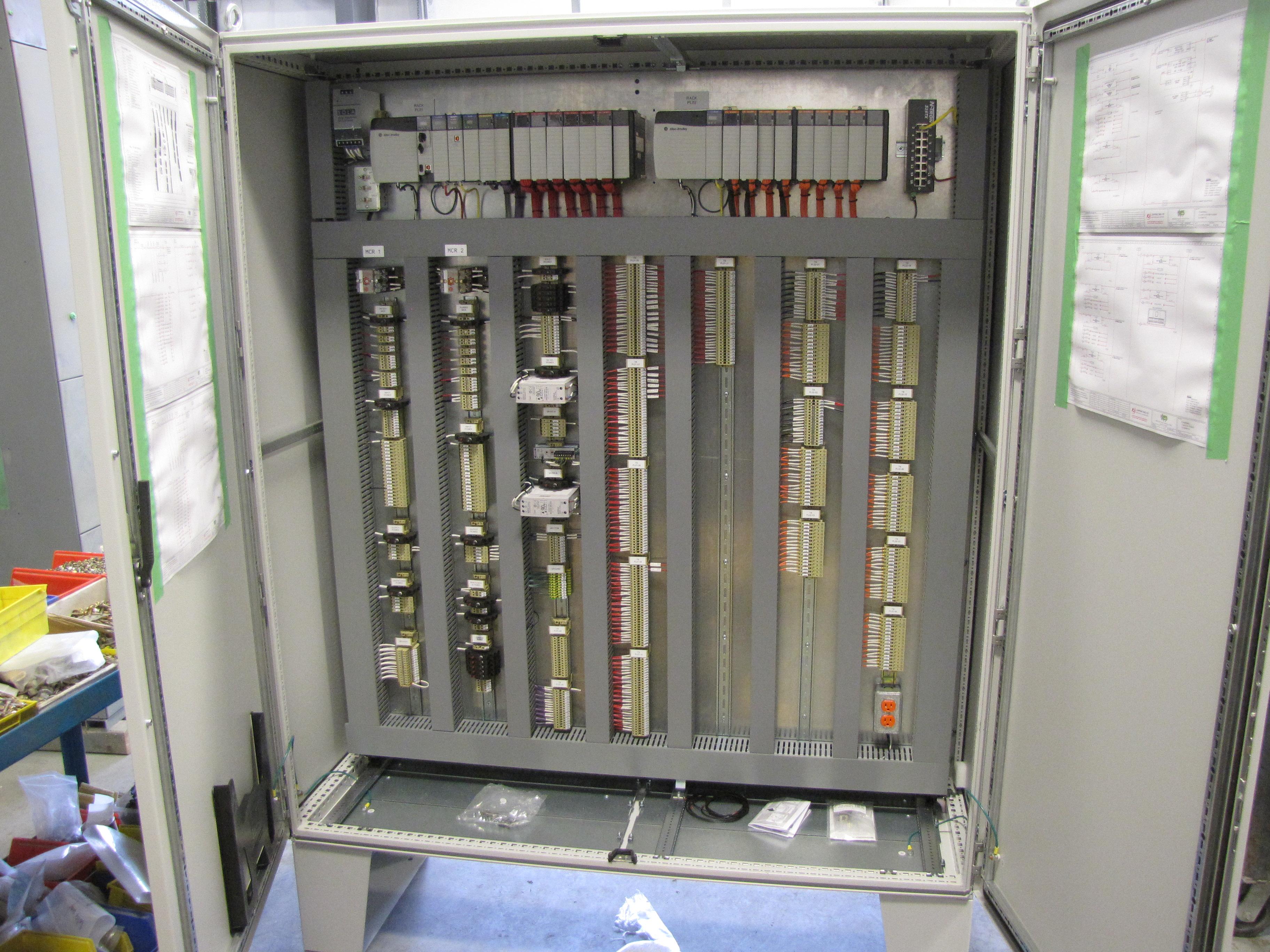 Plc Cabinet Wiring Diagram : Plc cabinet stkittsvilla